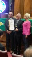 Cyril Bryan receives GCA Exemplary Award 2016
