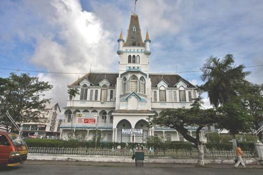 City Hall - Georgetown-Guyana