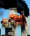 WTC burning towers