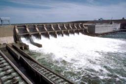 small hydro dam