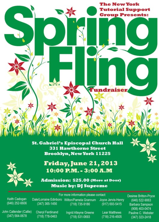 SpringFlingFlier 2013