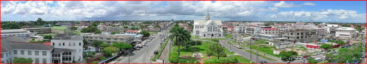 City of Georgetown. Guyana South America