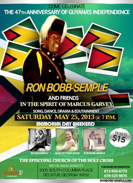 Independence celebration with Ron Bobb-Semple -c