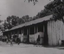 Slum house in the Caribbean