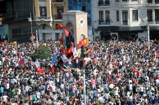 turkey demonstrations