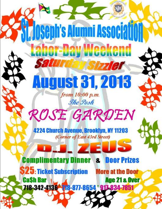 Labor Day -St.Joseph-Brooklyn