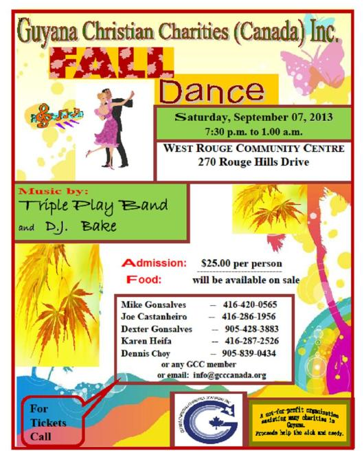 GCCC Fall Dance 2013