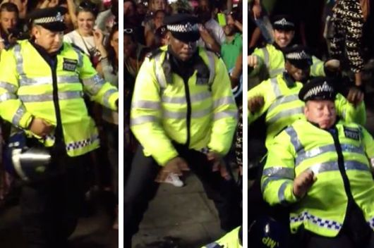 Notting-Hill-Carnival-2013-Police-Dance-Off-