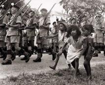 British Troops in Guyana - 1953