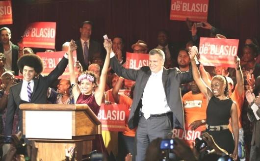 Bill de Blasio - NYC mayor