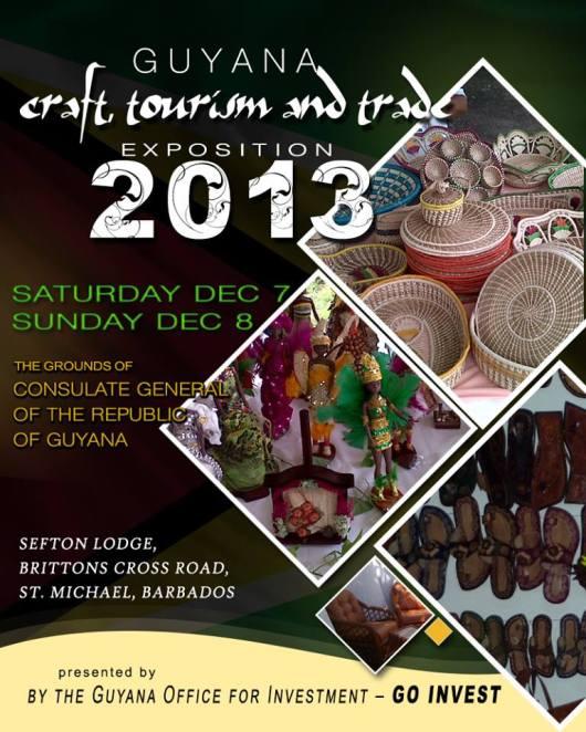 Guyana Expo in Barbados 2013