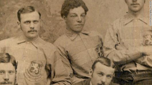 Andrew Watson - Scotland's captain - 1881