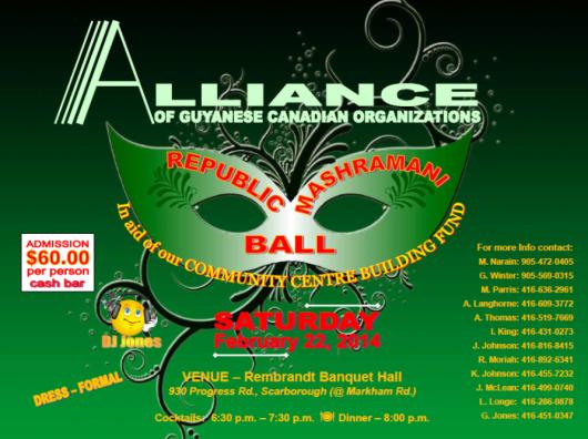 Guyanese Canadian Organizations
