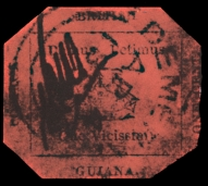 The famous British Guiana stamp