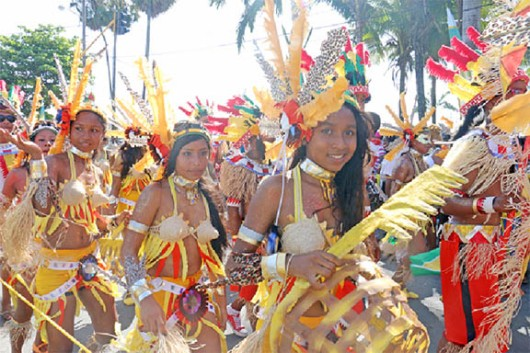 Part of the Region-10 Procession
