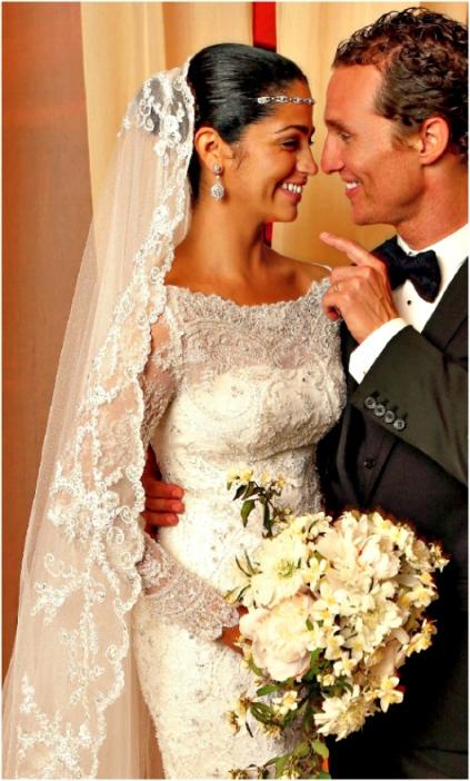 Wedding Camila Alves and Matthew McConaughey