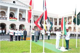 Flag Raising Ceremony - Republic Day 2014