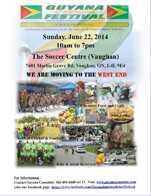Guyana Independence - Vaughn event