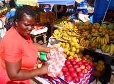 Market Vendor - Stabroek Market - Georgetown - Guyana