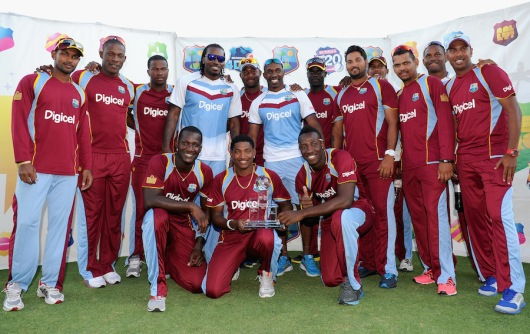 West Indies v England - 3rd T20