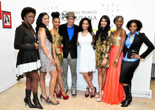 Miss Guyana World Pageant contestants