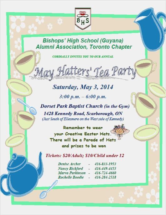 BHS Tea Party
