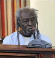 eusi Kwayana -in 2014