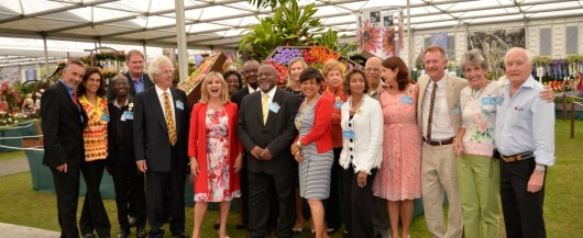 Barbados Horticultural Society Team 2014