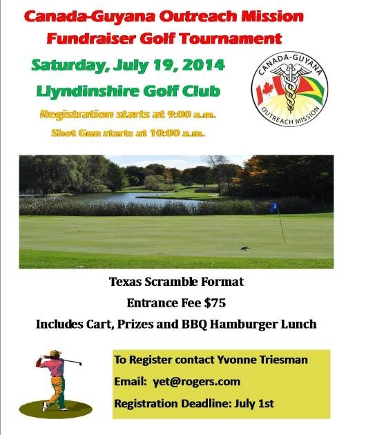 Guyana Outreach Golf Tournament