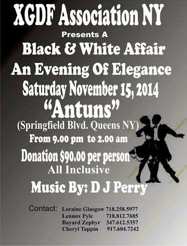 XGDF - Black and White Affair