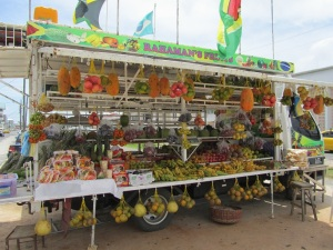 Fruit Cart in Georgetown, Guyana