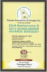Georgia Asso Scholarship event