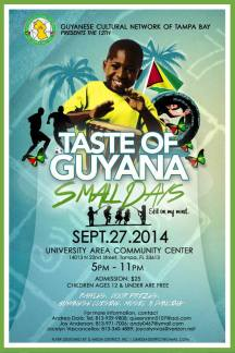 Flyer - Taste of Guyana