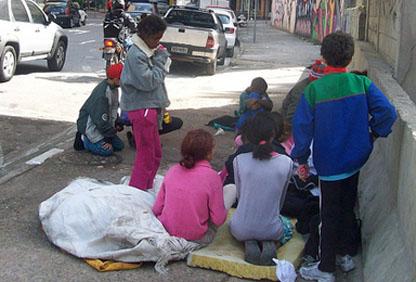 Street Children - Sao Paulo - Brazil