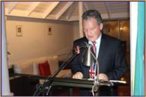 British High Commissioner to Guyana, Andrew Ayre