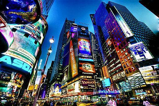 New York of the famous Awakening in New York poem