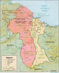 Guyana -Venezuela - Disputed territory