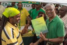 APNU+AFC Manifesto launched
