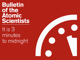 Bulletin of the Atomic Scientists - It is 3 minutes to midnight