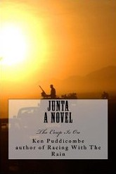 Front Cover of Junta A Novel by Ken Puddicombe