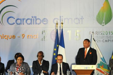Caribbean Climate Change Summit - Martinique - 8 May 2015