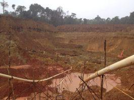 gold mining pit