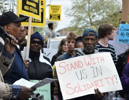 Justice for Freddie Gray - Baltimore - USA