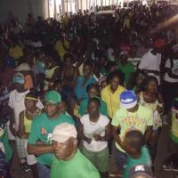 APNU+AFC rally in New Amsterdam.
