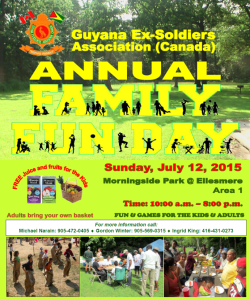 GESAC Fun Day - July 12, 2015