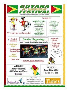 Guyana Festival 2015