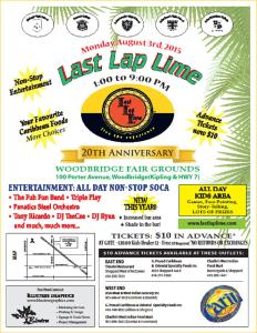 Last Lap Lime 2015  - click to Enlarge