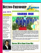 Buxton- Friendship Newsletter - July 2015