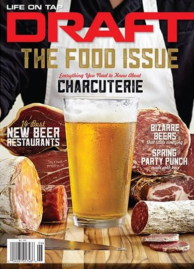 Draft Cover May-June 2015 - Photo Ed Rudolph - Food Stylist Marcella Capasso