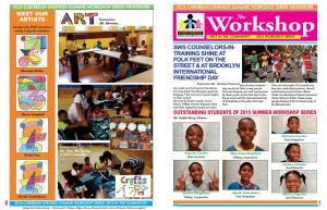 GCA Caribbean HeritageSummer Workshop 2015